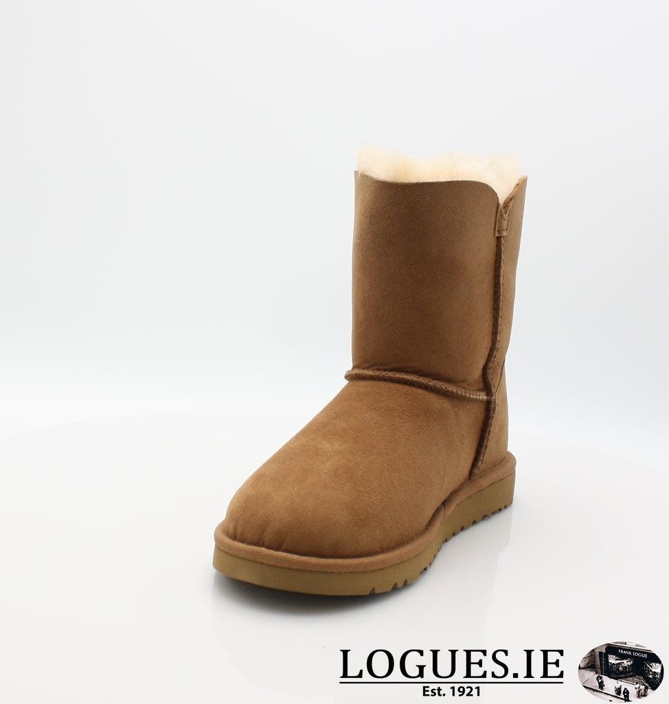 UGGS KIDS BAILEY BUTTON 5991-SALE-UGGS FOOTWEAR-CHESNUT-3 US 2 UK-Logues Shoes