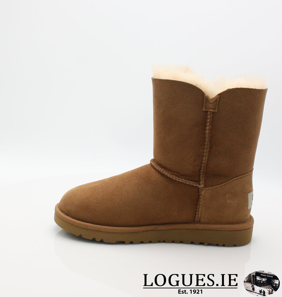 UGGS KIDS BAILEY BUTTON 5991-SALE-UGGS FOOTWEAR-CHESNUT-4 US 3 UK-Logues Shoes