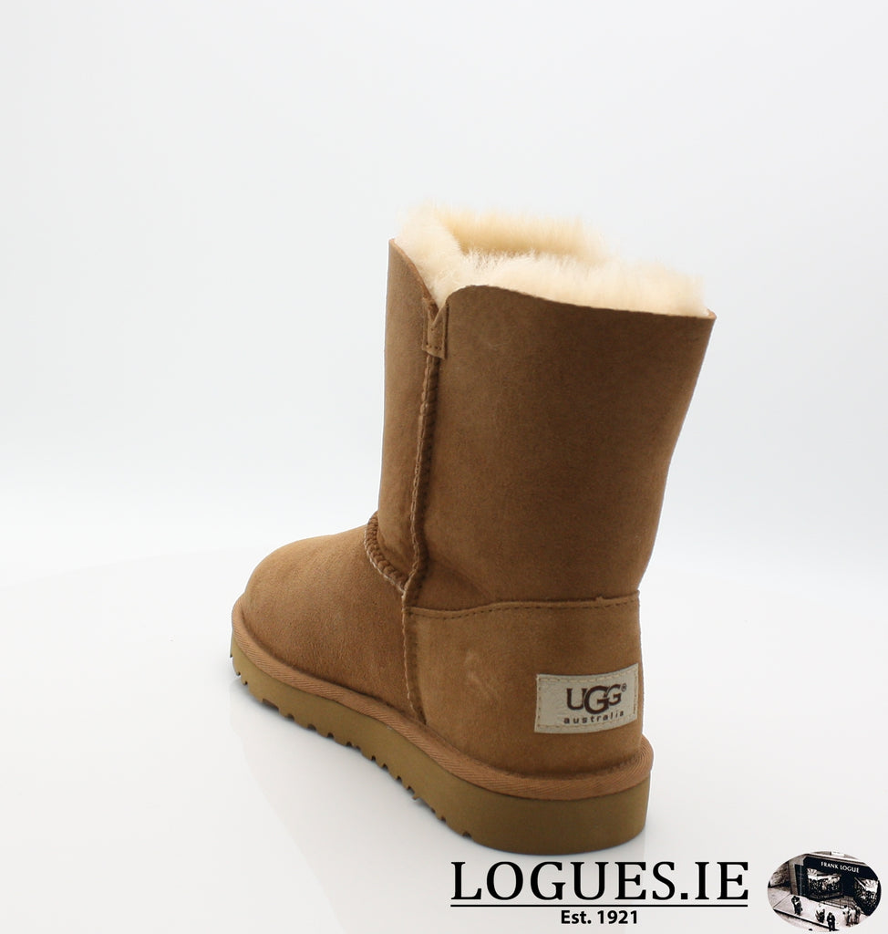 UGGS KIDS BAILEY BUTTON 5991-SALE-UGGS FOOTWEAR-CHESNUT-5 US 4 UK-Logues Shoes