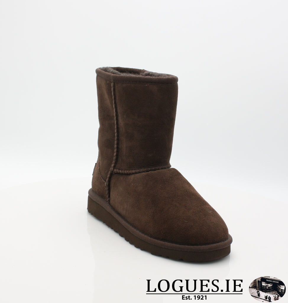 UGGS KIDS CLASSIC 5251-SALE-UGGS FOOTWEAR-CHOLOCATE-2 US 1 UK-Logues Shoes