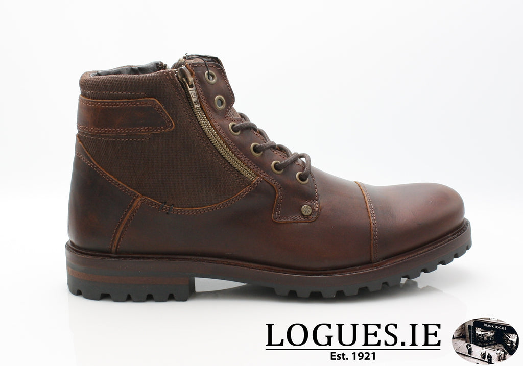 KEATLEY AW18 TOMMY BOWE-Mens-shoe city AMY-H+TOMMY-B SHOES-OAK-41 = 7 UK-Logues Shoes