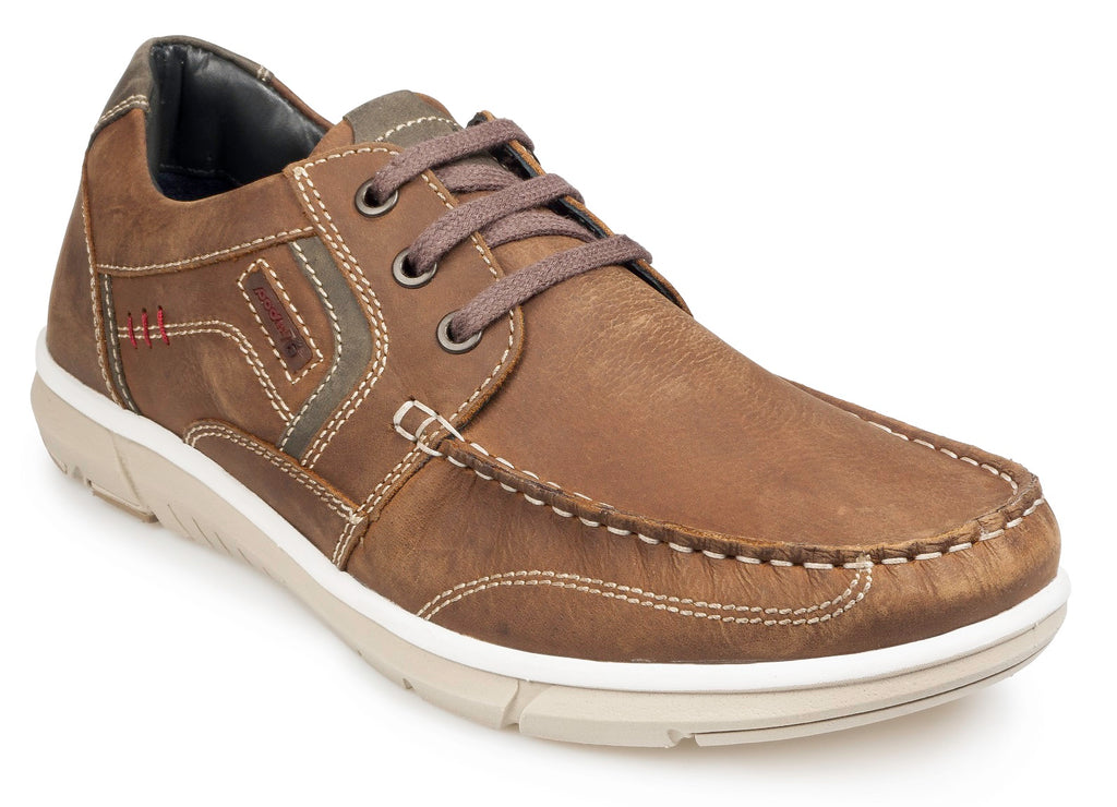 KITE A/W18-Mens-POD SHOES-BROWN-40 = 6.5 UK-Logues Shoes