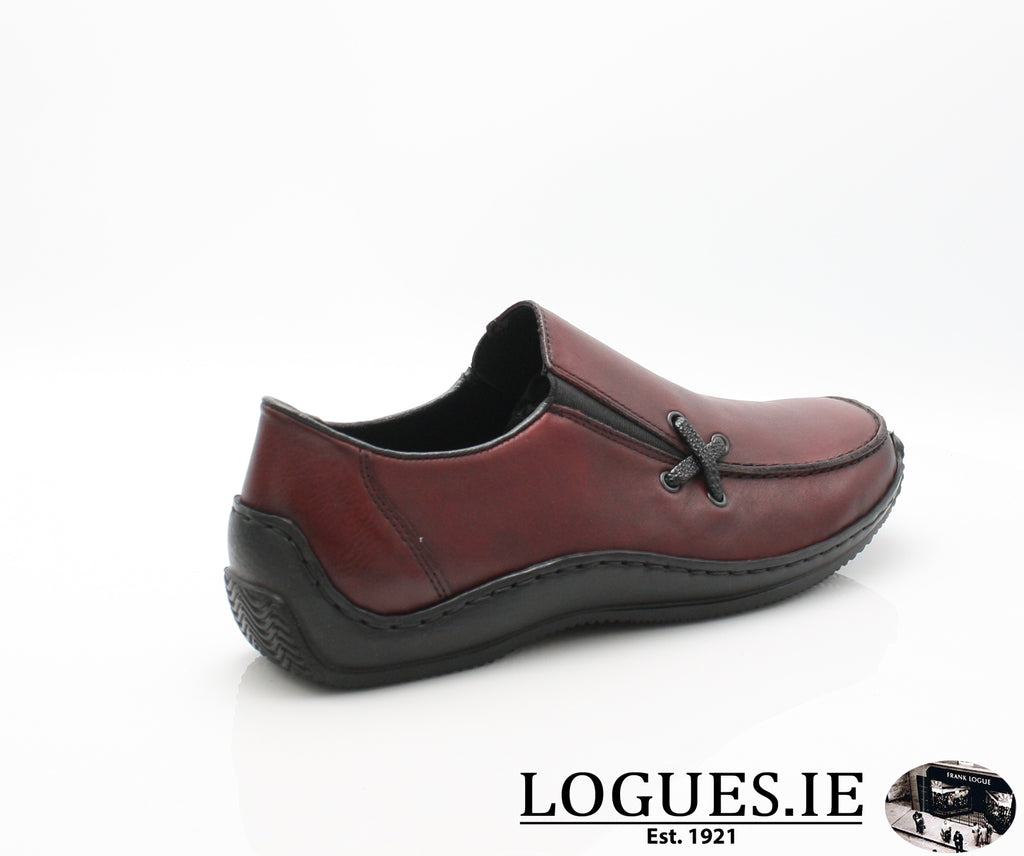 RKR L1783-Ladies-RIEKIER SHOES-wine/black 36-36-Logues Shoes