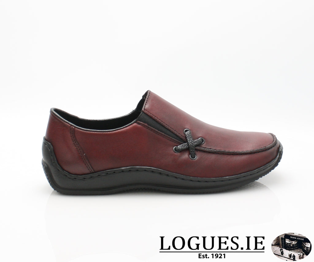 RKR L1783-Ladies-RIEKIER SHOES-wine/black 36-37-Logues Shoes