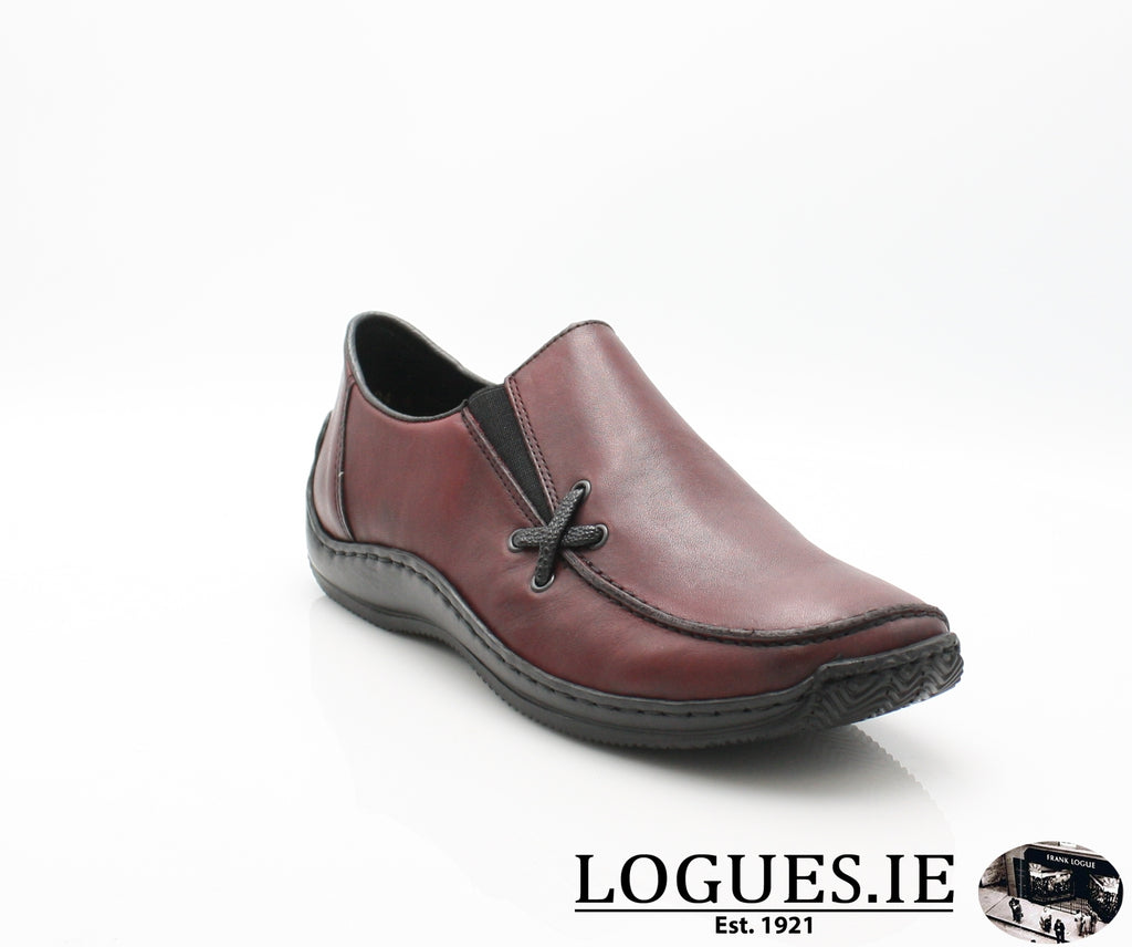 RKR L1783-Ladies-RIEKIER SHOES-wine/black 36-38-Logues Shoes
