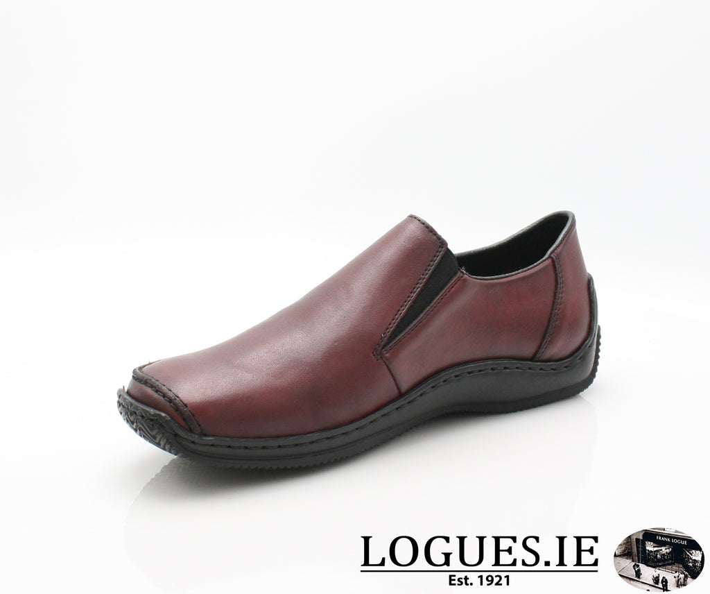 RKR L1783-Ladies-RIEKIER SHOES-wine/black 36-40-Logues Shoes