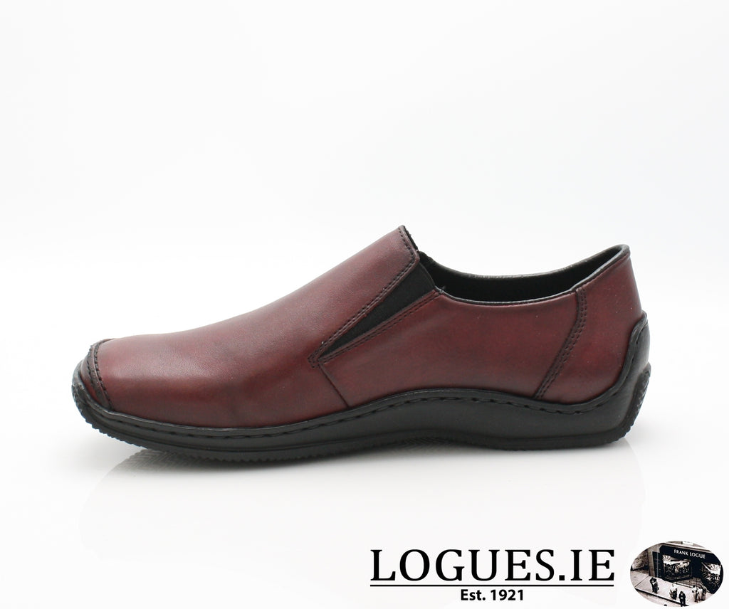 RKR L1783LadiesLogues Shoeswine/black 36 / 41