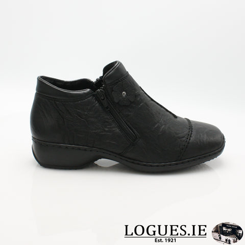 RKR L3888LadiesLogues Shoesschwa/schw 00 / 36