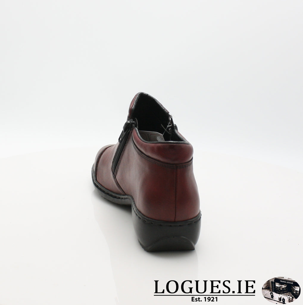 RKR L3888LadiesLogues Shoesmedoc/wine 35 / 41