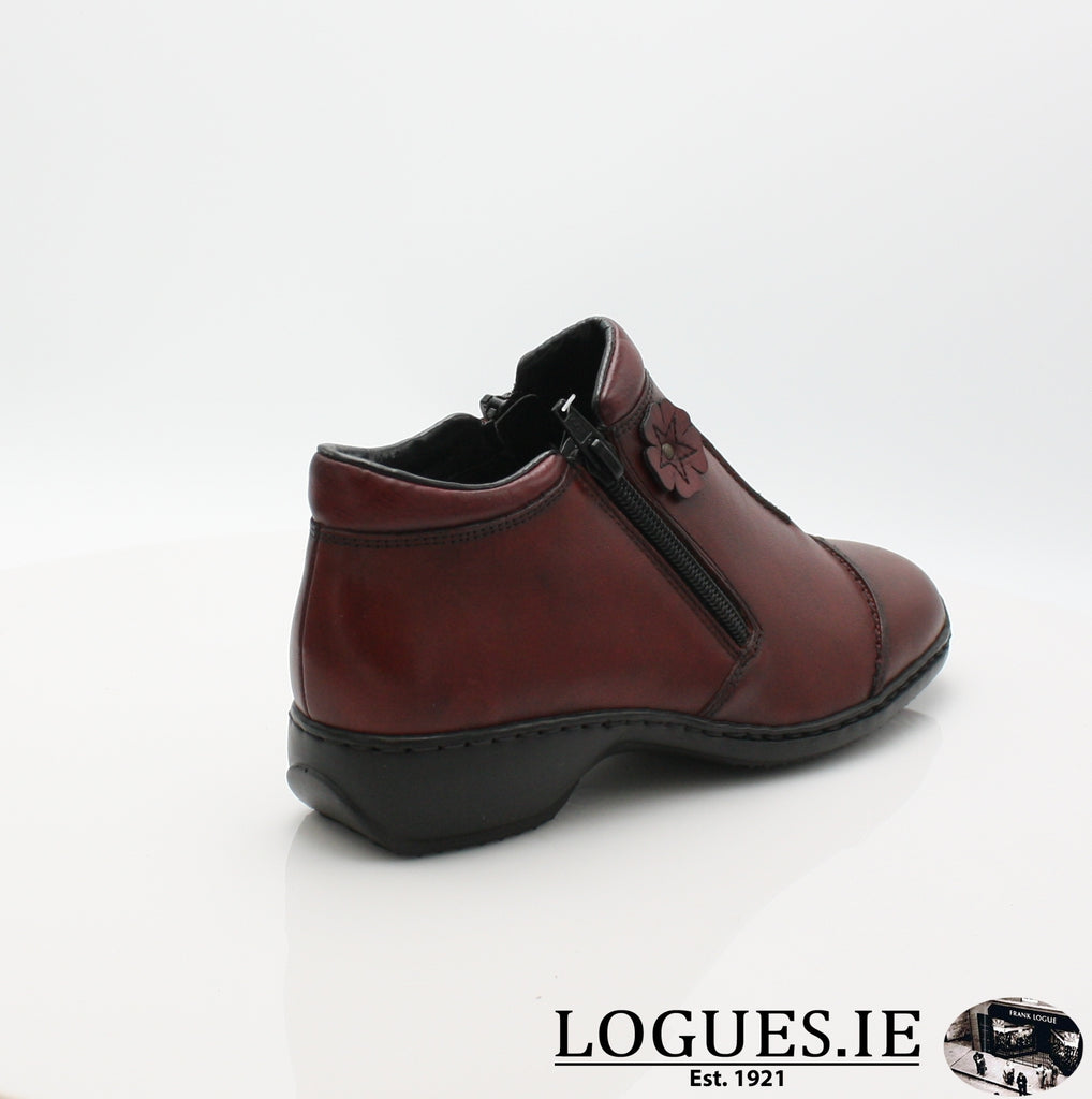RKR L3888LadiesLogues Shoesmedoc/wine 35 / 42
