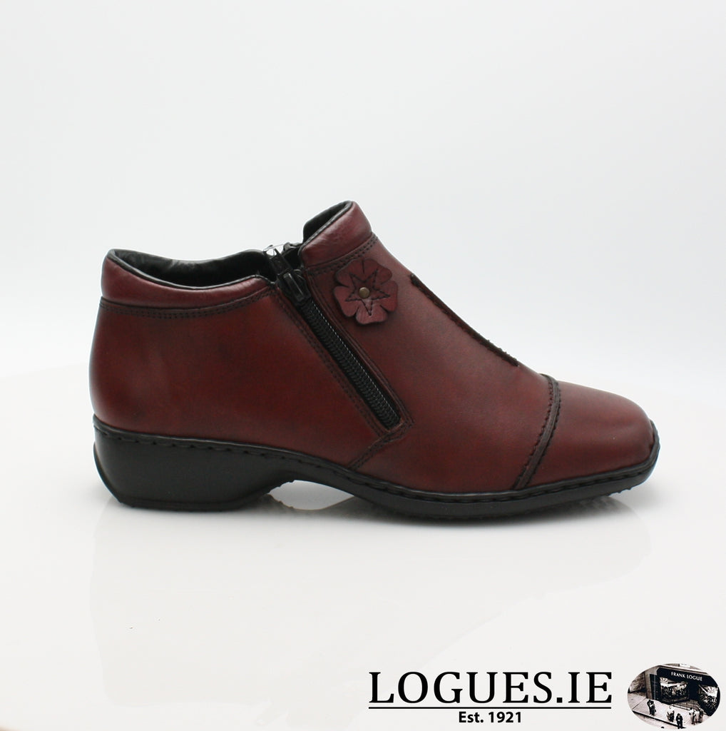 RKR L3888LadiesLogues Shoesmedoc/wine 35 / 36