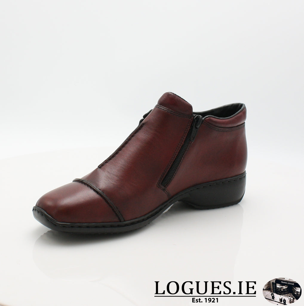 RKR L3888LadiesLogues Shoesmedoc/wine 35 / 39