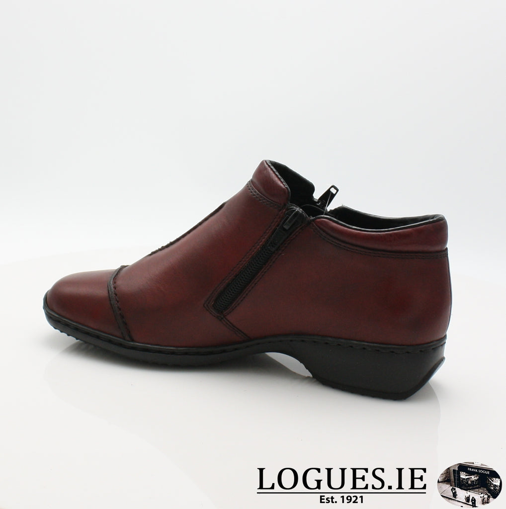 RKR L3888LadiesLogues Shoesmedoc/wine 35 / 40