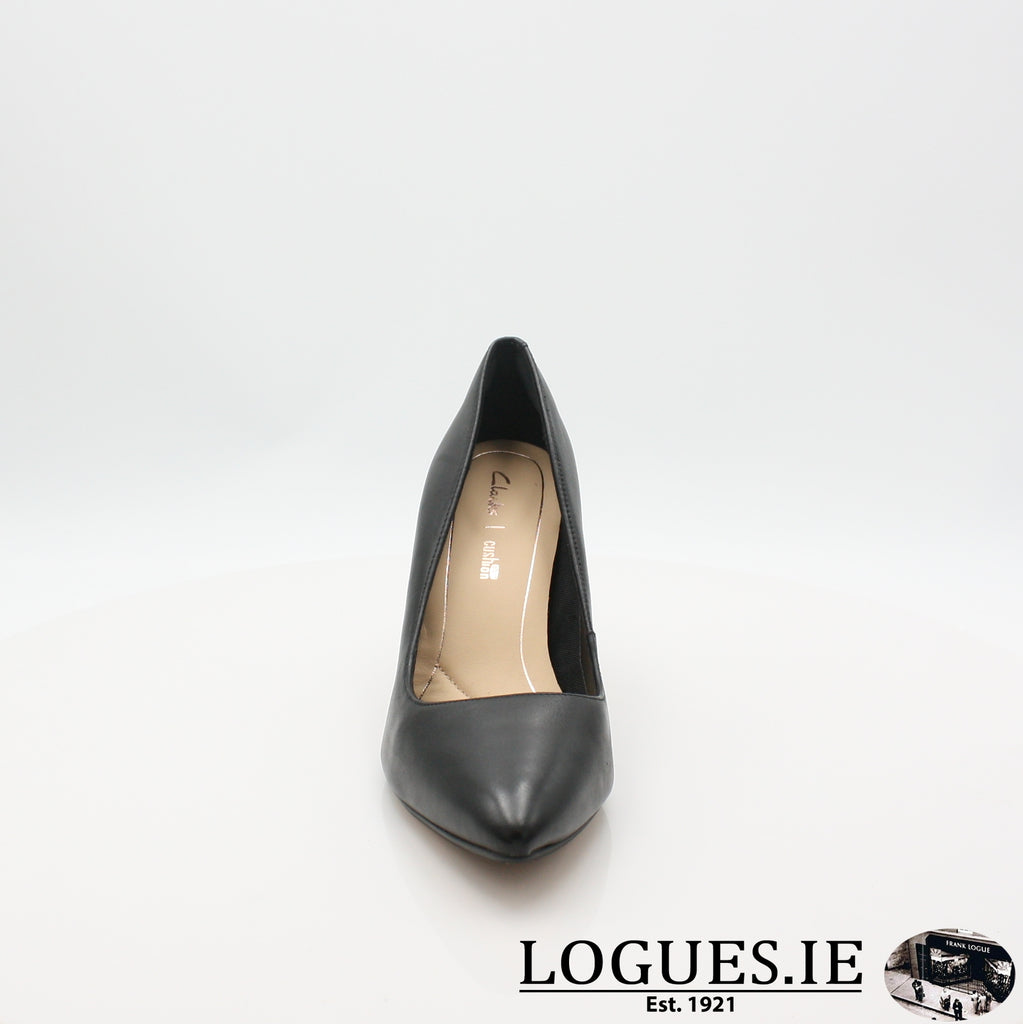 Laina Rae CLARKS 19LadiesLogues ShoesBlack Leather / 050 / D