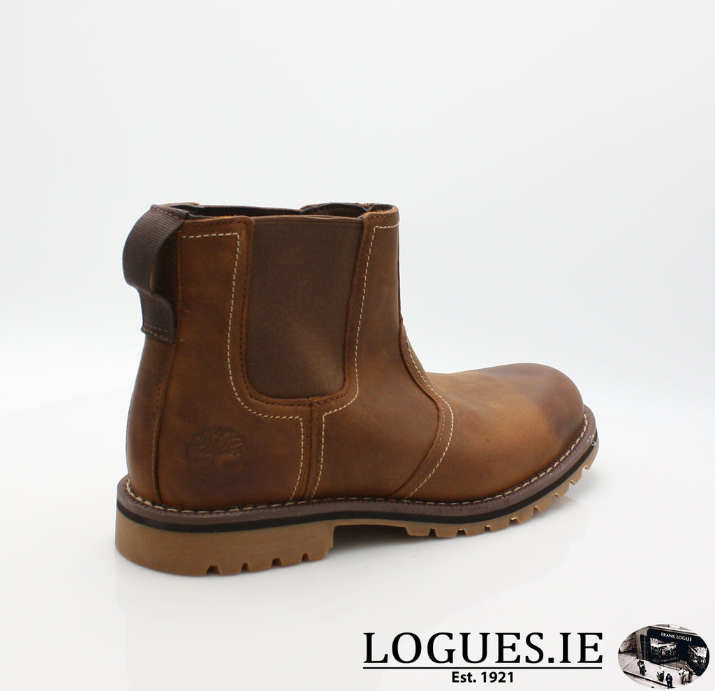CA13HZ LARCHMONT CHELSEA-Mens-TIMBERLAND SHOES-BROWN-13 US = 12.5 UK-Logues Shoes