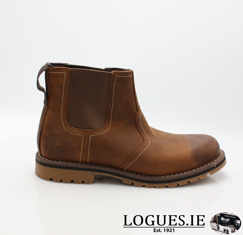 CA13HZ LARCHMONT CHELSEA-Mens-TIMBERLAND SHOES-BROWN-8 US =7.5 UK-Logues Shoes