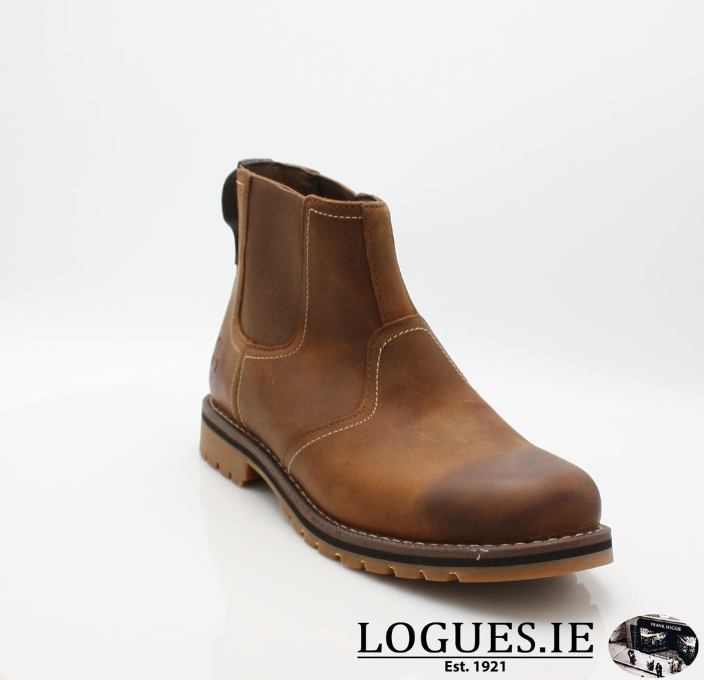 CA13HZ LARCHMONT CHELSEA-Mens-TIMBERLAND SHOES-BROWN-9 US =8.5UK-Logues Shoes