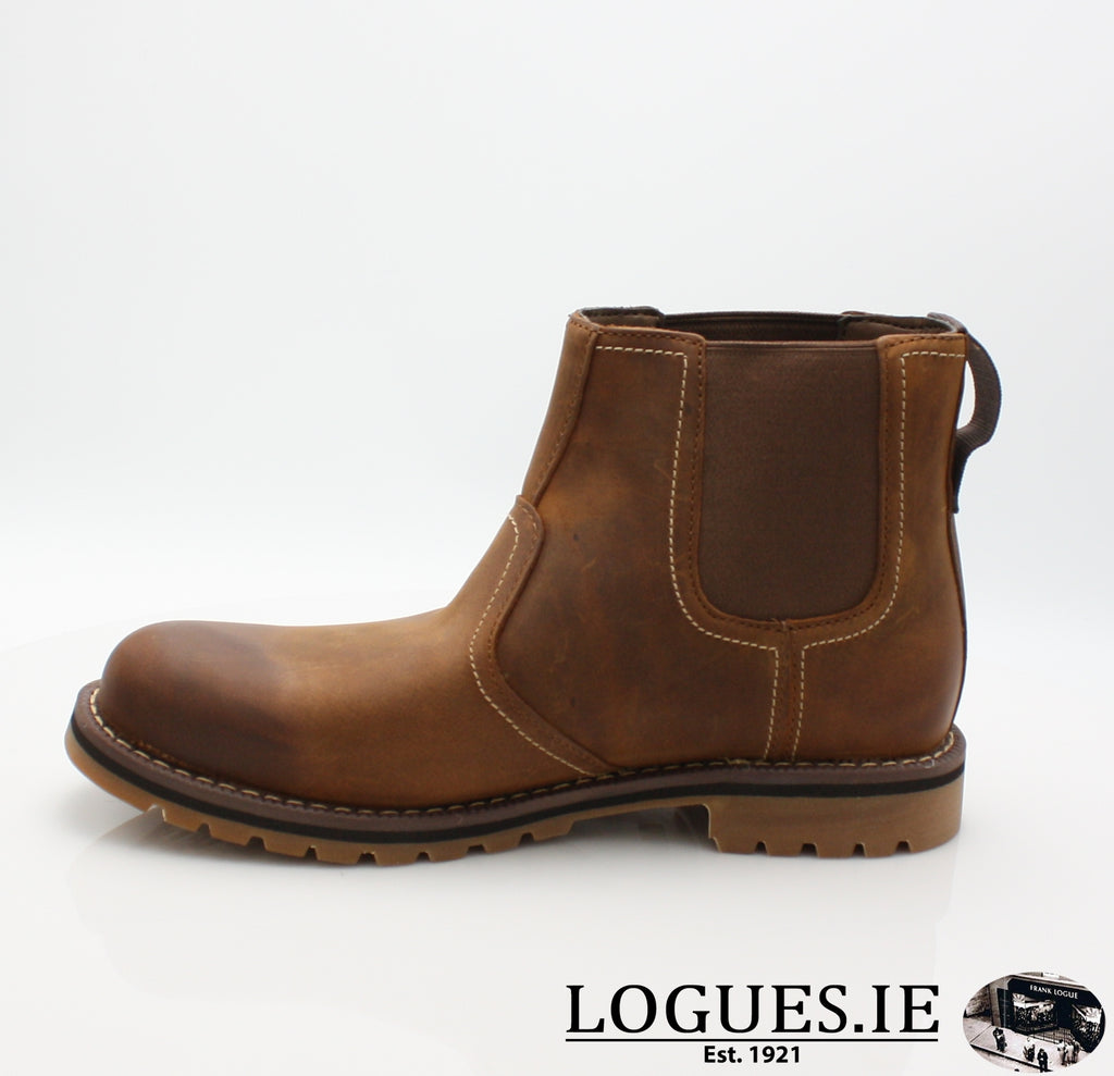 CA13HZ LARCHMONT CHELSEA-Mens-TIMBERLAND SHOES-BROWN-11 US =10.5 UK-Logues Shoes