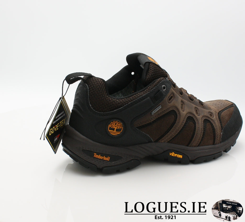 LEDGE LOW LTHR GTX - C57165-Mens-TIMBERLAND SHOES-DARK BROWN-11.5 US = 11 UK-Logues Shoes