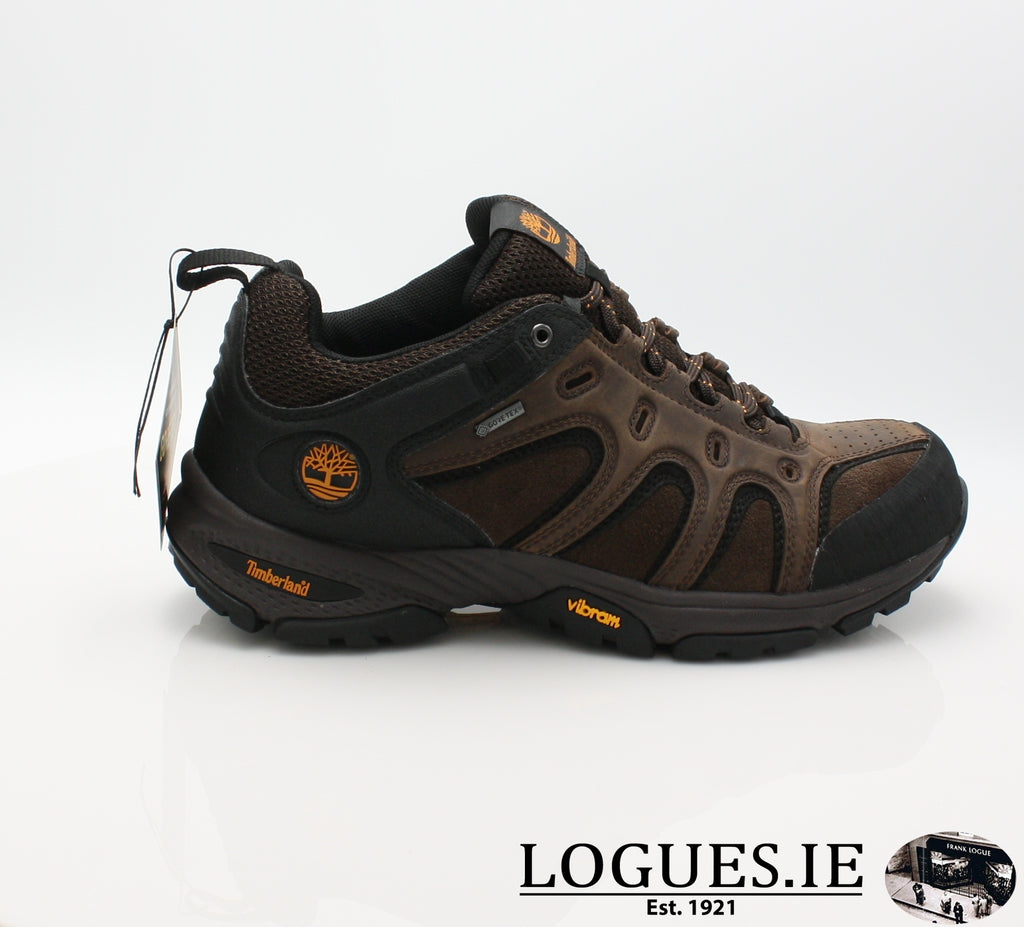 LEDGE LOW LTHR GTX - C57165-Mens-TIMBERLAND SHOES-DARK BROWN-7.5 US = 7UK-Logues Shoes