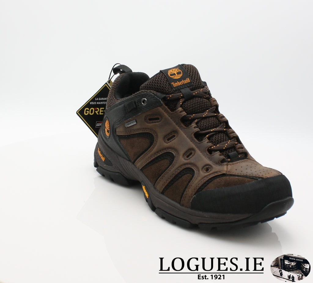 LEDGE LOW LTHR GTX - C57165-Mens-TIMBERLAND SHOES-DARK BROWN-8 US =7.5 UK-Logues Shoes
