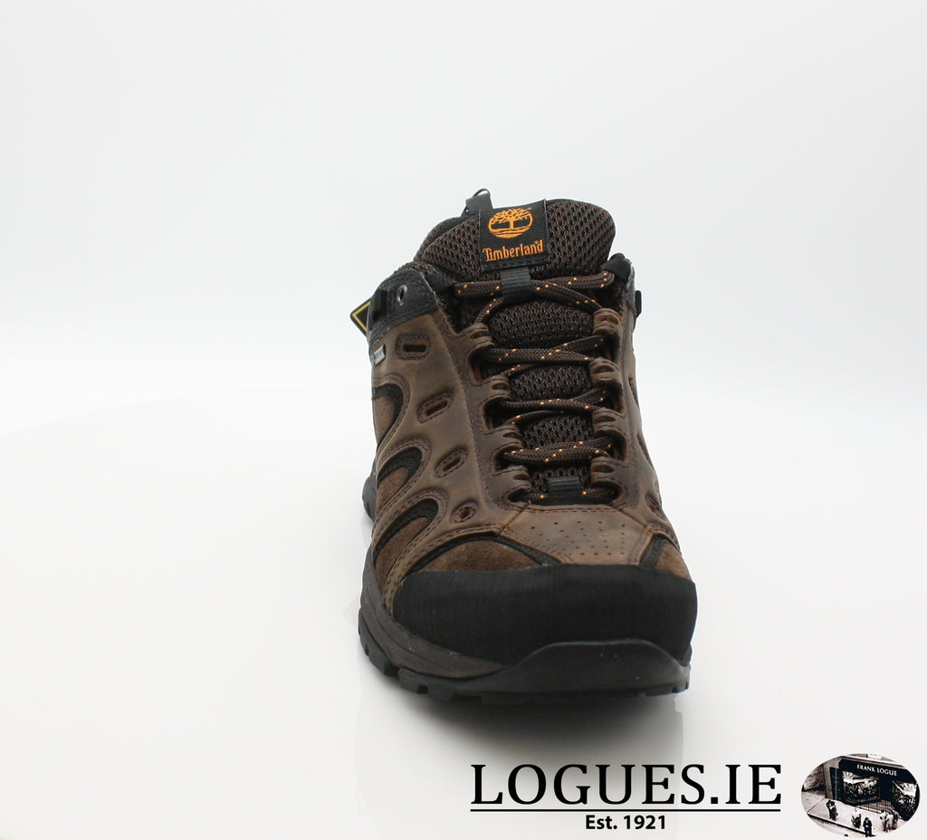 LEDGE LOW LTHR GTX - C57165-Mens-TIMBERLAND SHOES-DARK BROWN-8.5 US =8UK-Logues Shoes