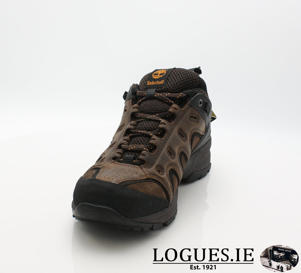 LEDGE LOW LTHR GTX - C57165-Mens-TIMBERLAND SHOES-DARK BROWN-9 US =8.5UK-Logues Shoes