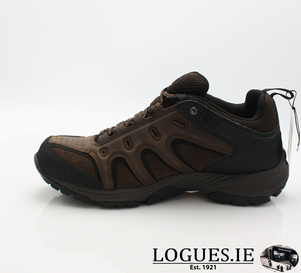 LEDGE LOW LTHR GTX - C57165-Mens-TIMBERLAND SHOES-DARK BROWN-9.5 US = 9 UK-Logues Shoes
