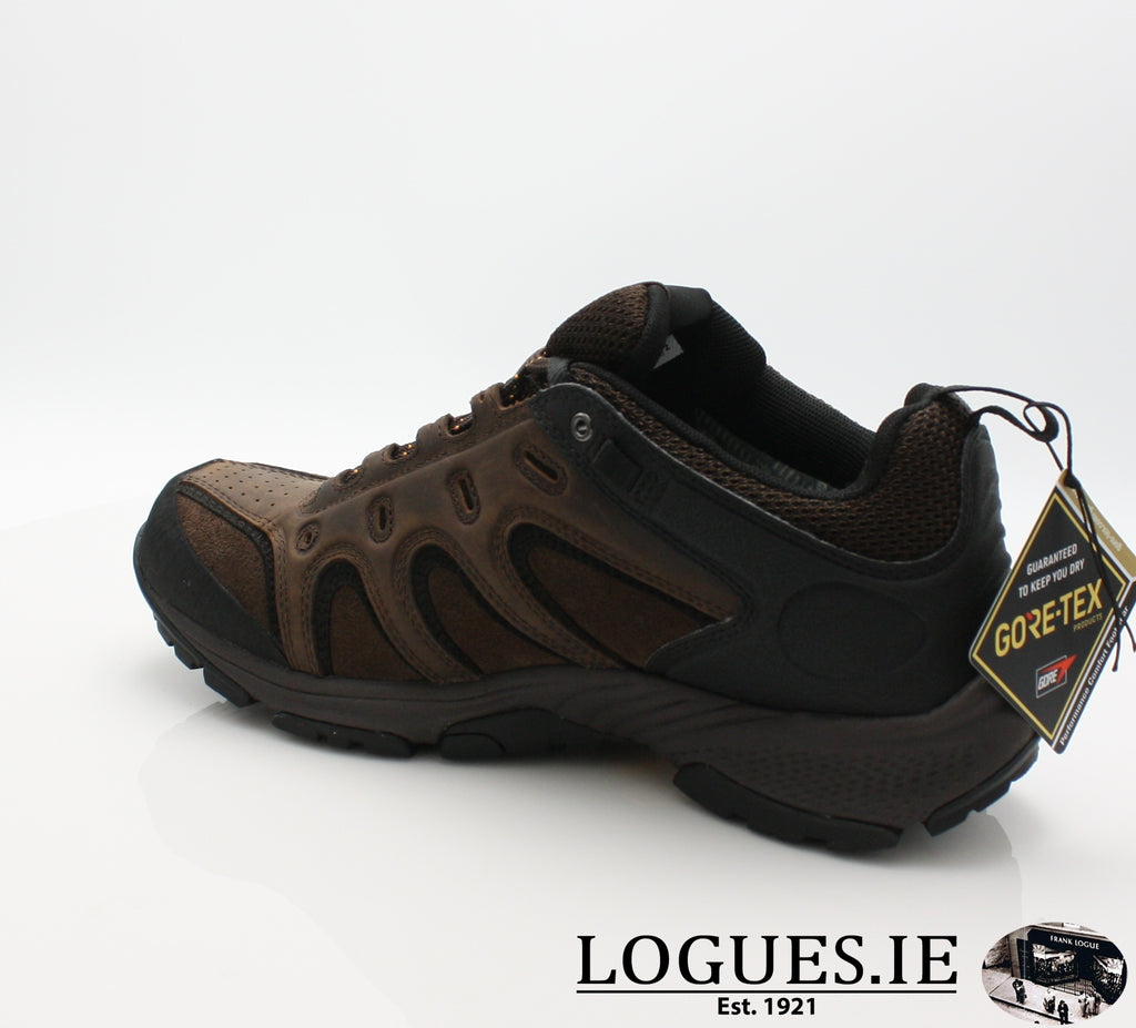 LEDGE LOW LTHR GTX - C57165-Mens-TIMBERLAND SHOES-DARK BROWN-10 US =9.5 UK-Logues Shoes