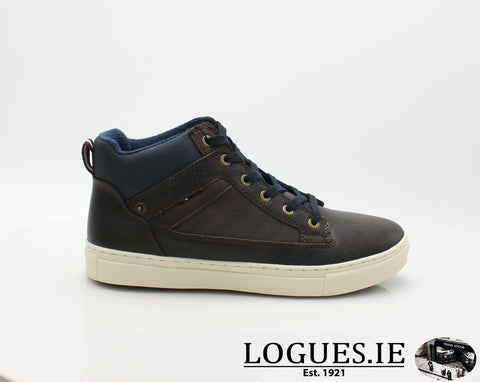 LENNON AW18 TOMMY BOWEMensLogues ShoesWOOD / 41 = 7 UK