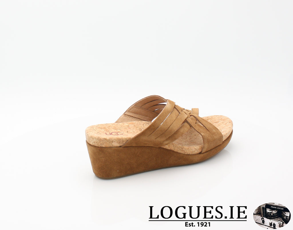 LILAH UGGS SS18-SALE-UGGS FOOTWEAR-CHESTNUT 1019976-43 EU = 10.5 UK =12US-Logues Shoes