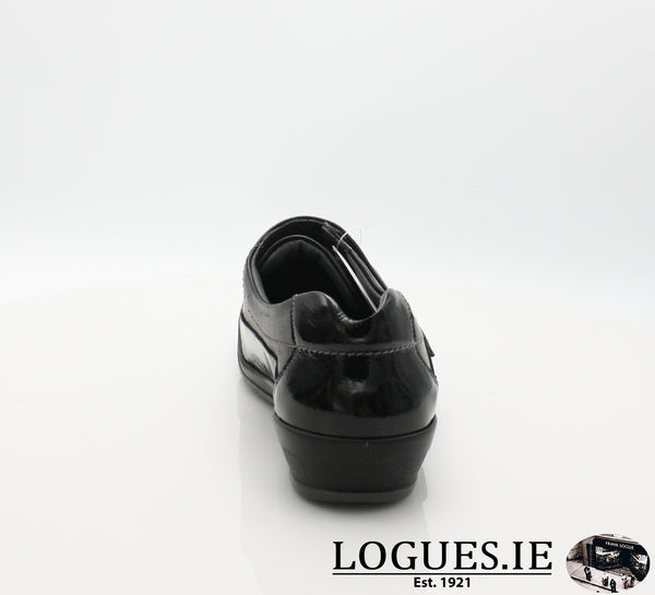 4606 LILY SUAVE AW18LadiesLogues ShoesBLACK / 42 = 8 UK