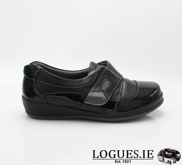 4606 LILY SUAVE AW18LadiesLogues ShoesBLACK / 36 = 3 UK