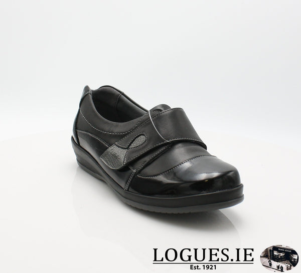 4606 LILY SUAVE AW18LadiesLogues ShoesBLACK / 37 = 4 UK