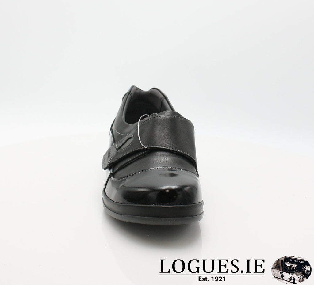 4606 LILY SUAVE AW18LadiesLogues ShoesBLACK / 38 = 5UK