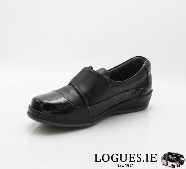 4606 LILY SUAVE AW18LadiesLogues ShoesBLACK / 39 = 6 UK