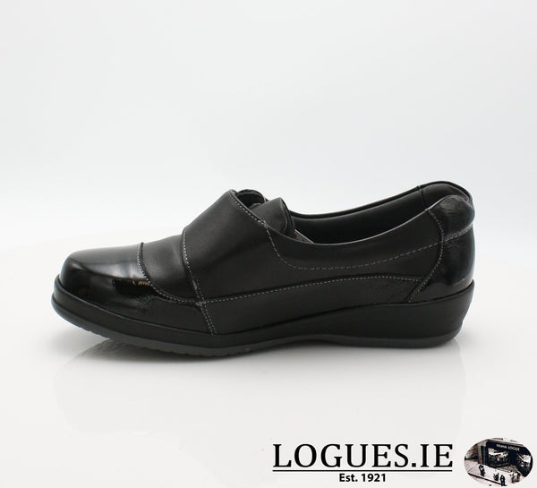 4606 LILY SUAVE AW18LadiesLogues ShoesBLACK / 40 = 6.5/7 UK