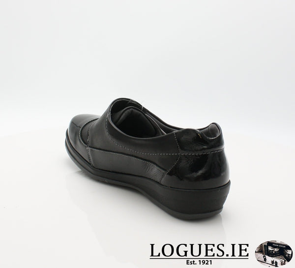4606 LILY SUAVE AW18LadiesLogues ShoesBLACK / 41 = 7/8 UK