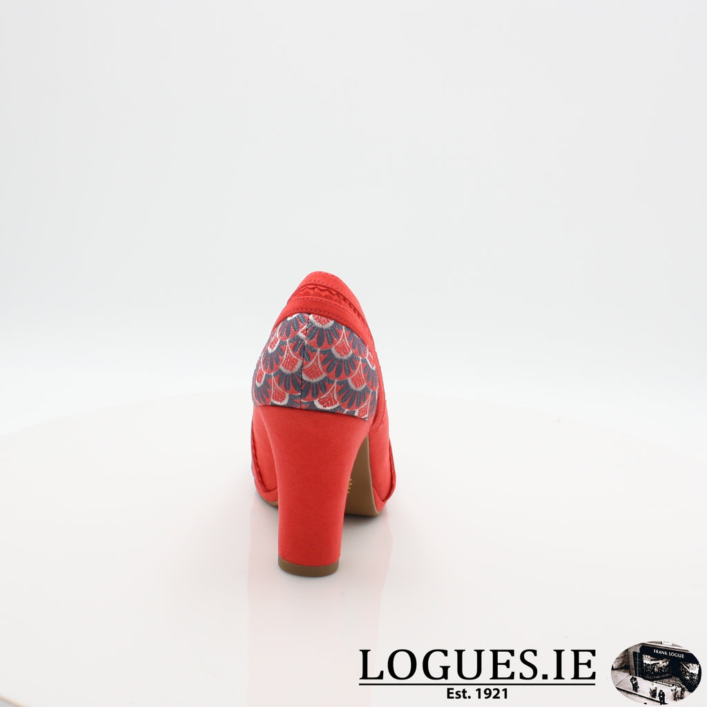 LIVIA RUBY SHOO S19-Ladies-RUBY SHOO-CORAL-6 UK- 39 EU - 8 US-Logues Shoes