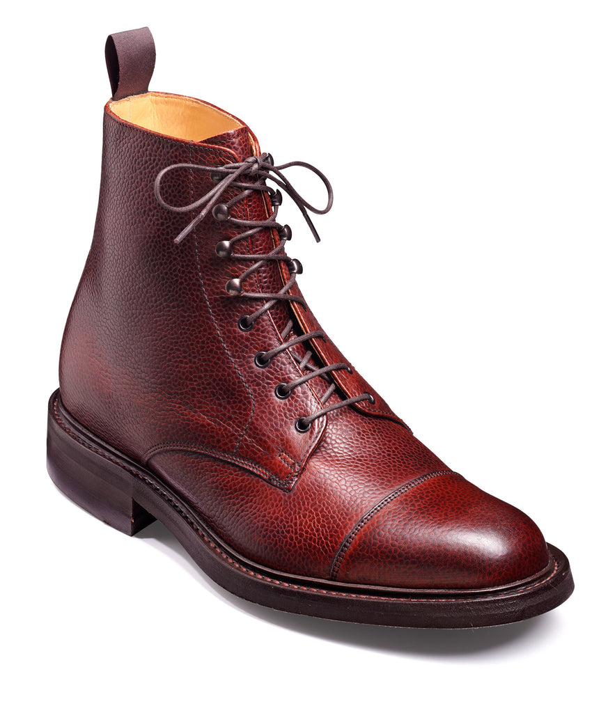 LAMBOURNE BARKER-Mens-BARKER SHOES-CHERRY-6-Logues Shoes