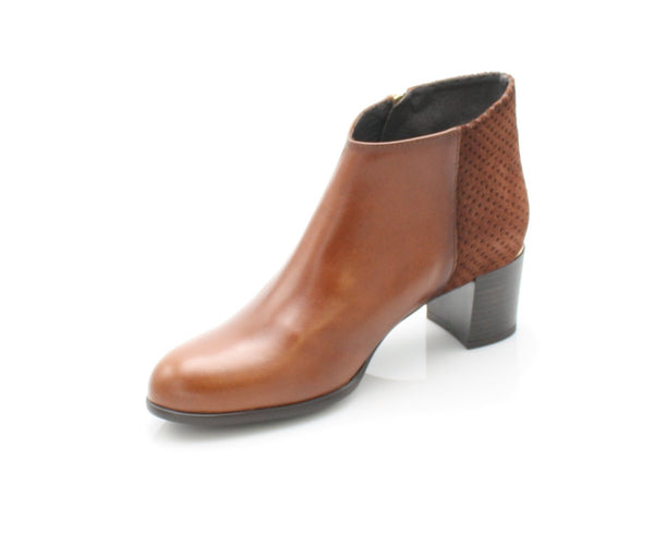 9041  LEANA T AW17LadiesLogues ShoesBRANDY / 41 = 7 UK
