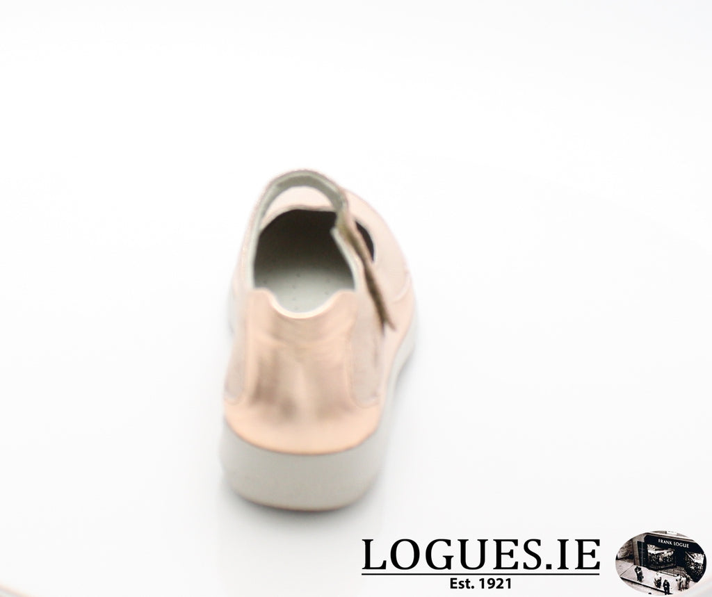 LENA SUAVE S/S 18-Ladies-SUAVE SHOES CONOS LTD-PAPAYA/PORCHE-36 = 3 UK-Logues Shoes