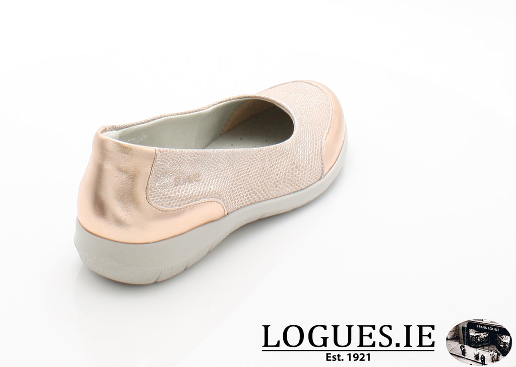 LESLEY SUAVE S/S 18-Ladies-SUAVE SHOES CONOS LTD-PORCHE/NATURAL-36 = 3 UK-Logues Shoes