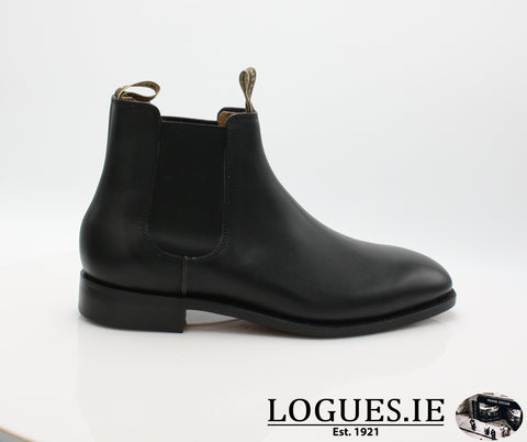 MANSFIELD BARKERMensLogues ShoesBLACK CALF / 6 UK
