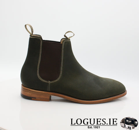 MANSFIELD BARKERMensLogues ShoesGREEN / 7 UK