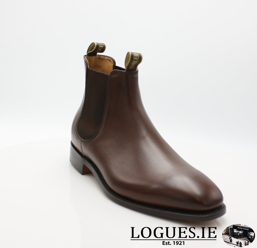 MANSFIELD BARKER-Mens-BARKER SHOES-WALNUT CALF-6 UK-Logues Shoes