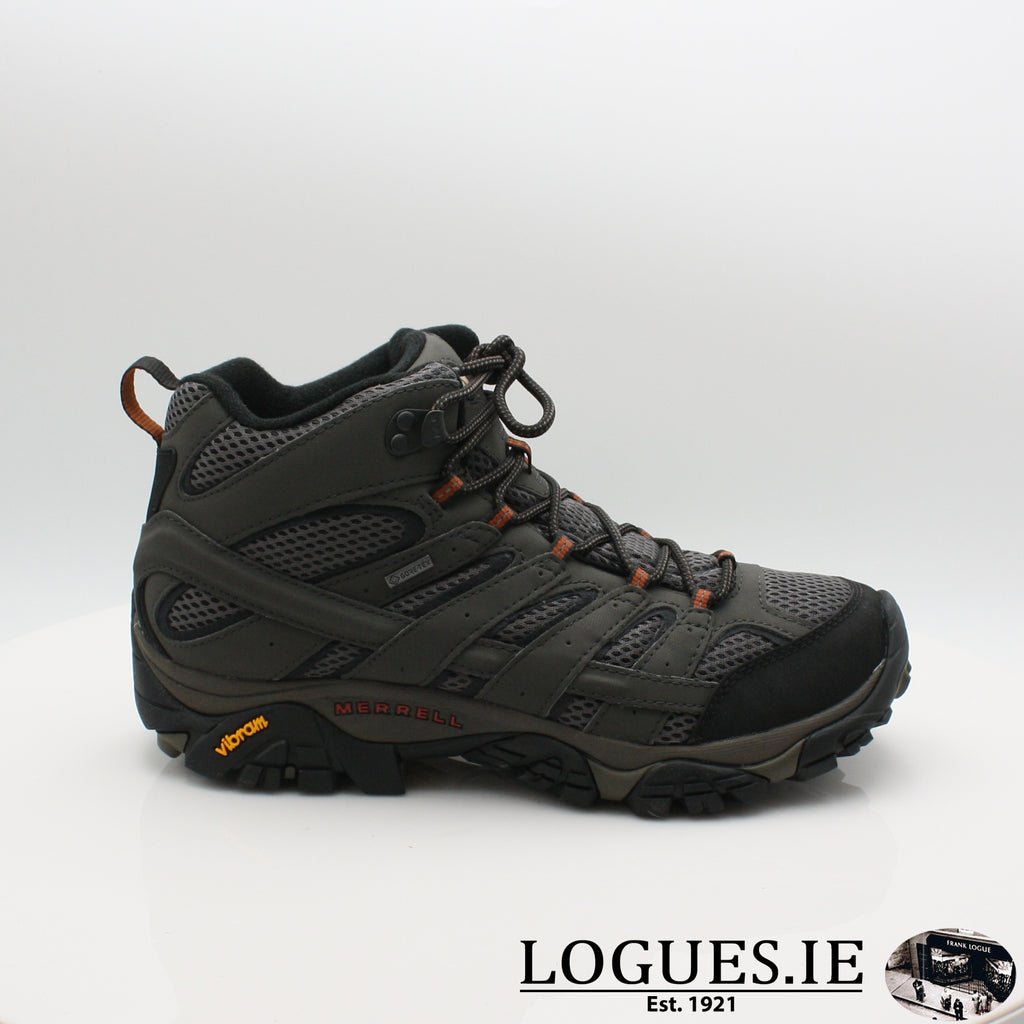 MOAB 2 MID GORTEX 20, Mens, Merrell shoes, Logues Shoes - Logues Shoes.ie Since 1921, Galway City, Ireland.