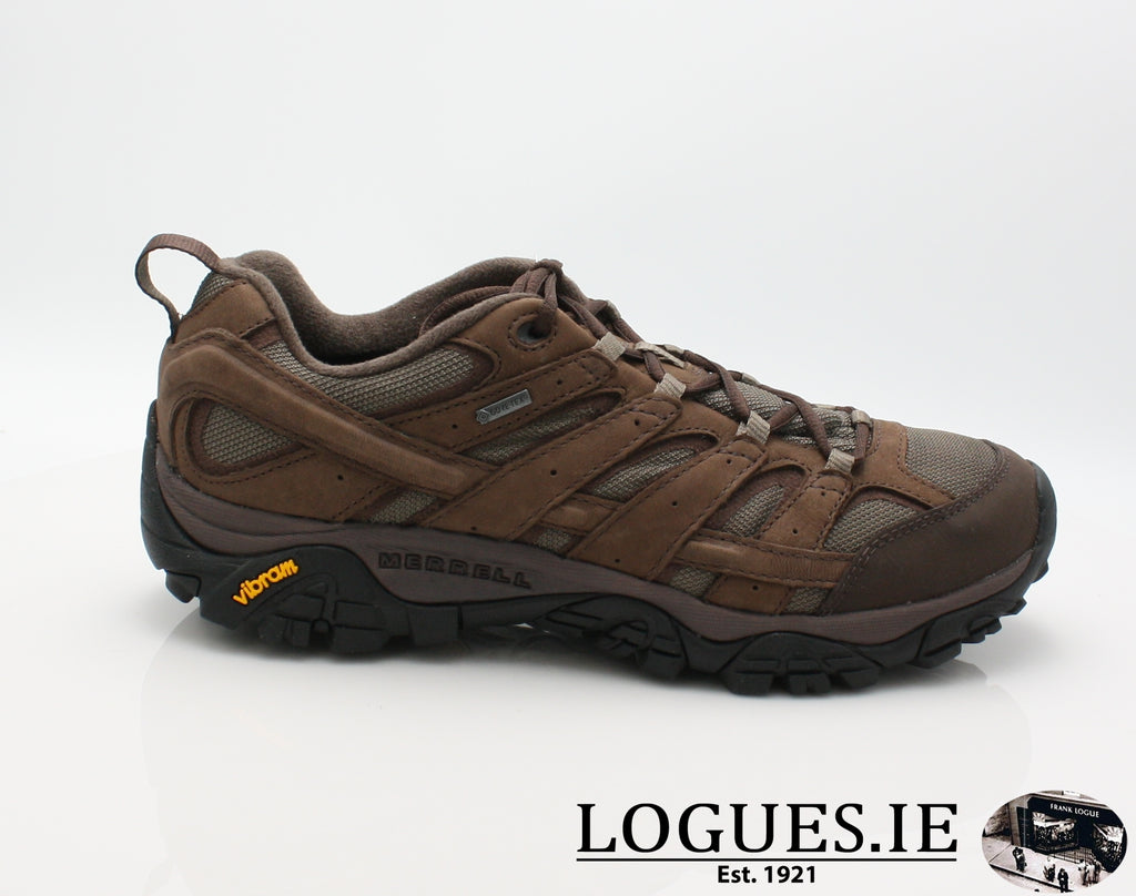 J46561 MOAB 2 SMOOTH GTX-Mens-Merrell shoes-BRACKEN-41 = 7 UK-Logues Shoes