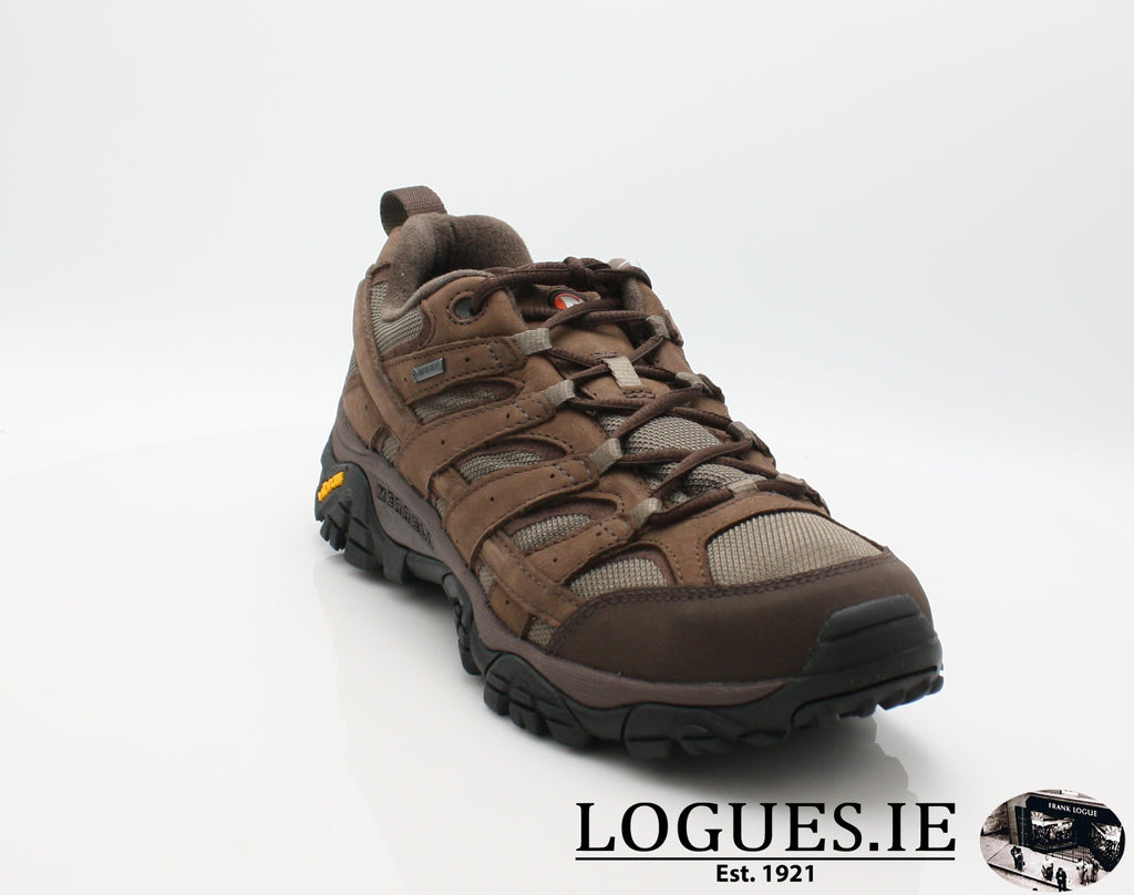 J46561 MOAB 2 SMOOTH GTX-Mens-Merrell shoes-BRACKEN-42 = 8 UK-Logues Shoes