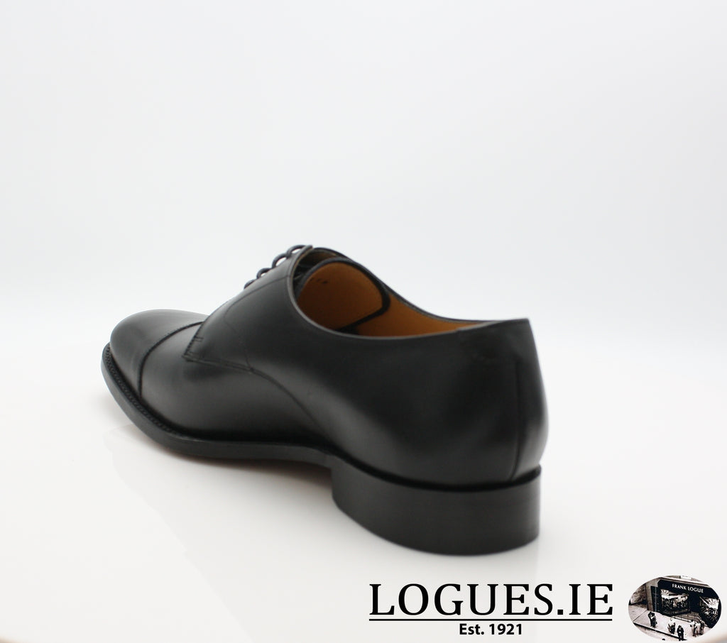 MORDEN BARKER-Mens-BARKER SHOES-BLACK CALF-6 UK -39 EU- 7 US-Logues Shoes